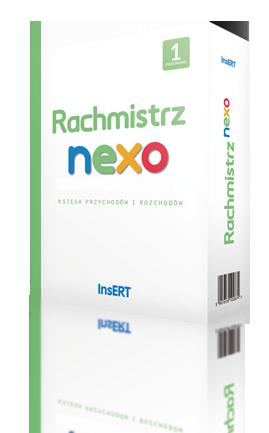 Pudełko Rachmistrza nexo w wersji na 1 stanowsiko